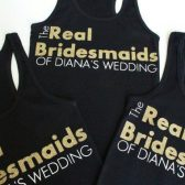Wedding Party Tanks