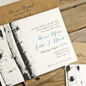 Aspen Wedding Invitation