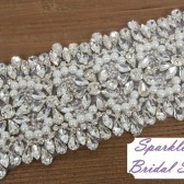 Avery Bridal Sash - SparkleSM Bridal Sashes