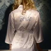 Emmalyn Satin Bridal Lingerie Robe