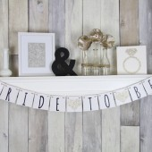 Bride To Be Champagne Wedding Banner