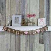 Bride to Be Wedding Banner
