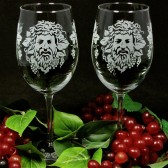 Dionysus Wedding Wine Glasses
