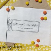 Formal Wedding Candy Bags