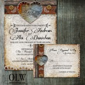 Rustic Barn Wedding Stationery