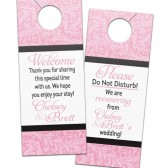 Baroque Flourish Door Hangers