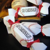 Baseball Wedding Favor Boxes