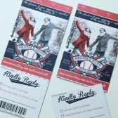 Baseball Football Soccer Sports Theme Ticket Invitation