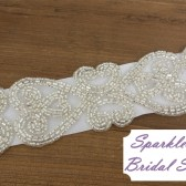SparkleSM Bridal Sashes - Riley