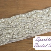 SparkleSM Bridal Sashes -Brooklyn
