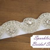 SparkleSM Bridal Sashes - Marylin