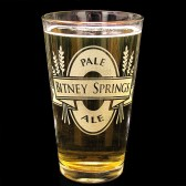 Beer Logo Glass, Groomsmen Gift