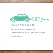 Beetle Printable Save The Date