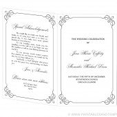 Wedding Program Template - Behold Design
