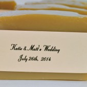 Personalized Beer Soap