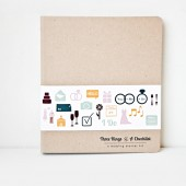 Wedding Planner, Binder, Three Rings and A Checklist, a weddings starter kit