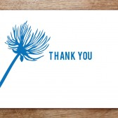 Bluebell Printable Thank You Card