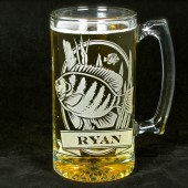 Personalized Bluegill Beer Stein, Groomsmen Gifts