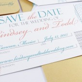 Shell Boarding Pass Save The Date