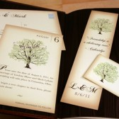 Vintage Book Save the Date Card or Bookmark
