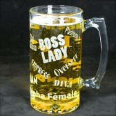 Boss Lady Beer stein