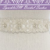 Geraldine Wedding Sash