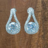 Ashley Wedding Earrings