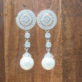 Emerson Bridal Earrings
