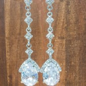 Audrey Bridal Earrings