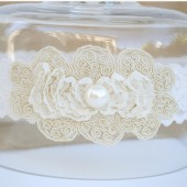 Soutache Wedding Garter