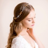 bridal, hair, vine, bridal hair vine, crystal vine, pearl vine, floral, hair accessory, wedding hair vine