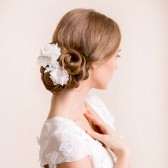 bridal, hairpiece, bridal hairpiece, flower, headpiece, wedding, lace hairpiece, lace headpiece
