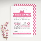 Princess Bridal Shower Invitation