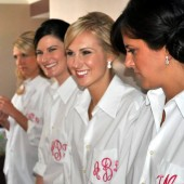 Monogram Bridesmaid Shirt