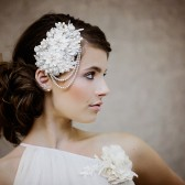 The Mignon Wedding Lace Headpiece