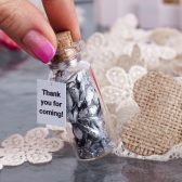 Silver wedding favor Personalized wedding party favours Silver favor for rustic wedding Country wedding gift ideas for guests