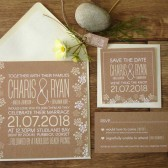 Handmade Wedding, Stationery Design Collection, Invitations, RSVP, Save the date, name tags, order of service, thank you