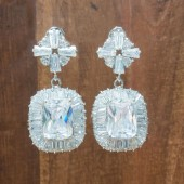 Alex Wedding Earrings