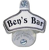 Personalized Wall Mount Bottle Opener