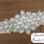 Carly Bridal Sash - SparkleSM Bridal Sashes