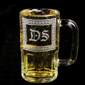 Celtic Knot Wedding Beer Mug