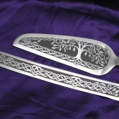Celtic tree of life Cake server Set