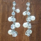 Heather Pearl Earrings