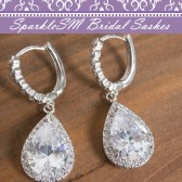Wedding Earrings, SparkleSM Bridal, Reese