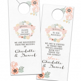 Charlotte Floral Wreath Door Hangers