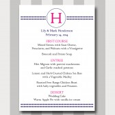 Menu Card Template - Circles