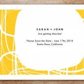Circles Printable Save The Date