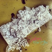 "The ""Clara"" Lace Garter Set"