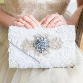 Something Blue Bridal Purse