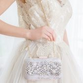 Rhinestone Bridal Clutch